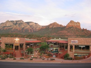 Typical Sedona Town View