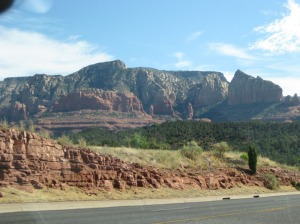 Leaving Sedona on 89A