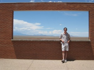 Meteor Crater Horizon Window